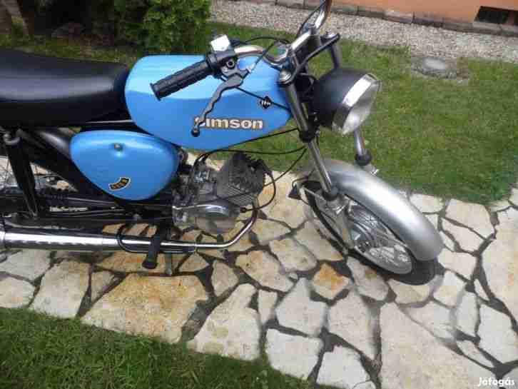 Simson S50N aus 1979, restauriert