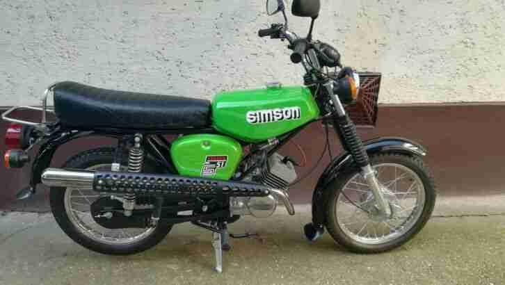 Simson S51 Enduro 4Gang 12V