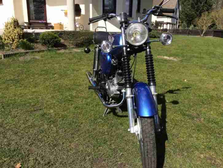 Simson S51 mit ABE !!! TOP !!! BMW Estorilblau Mettallic