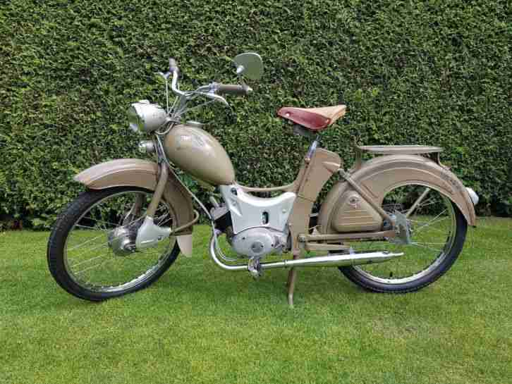 Simson SR2 im Originallack Patinarestauration