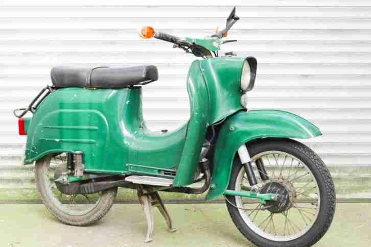 Simson Schwalbe KR51 1 restauriert Bj. 1972 mit Papieren Neuaufbau Moped DDR