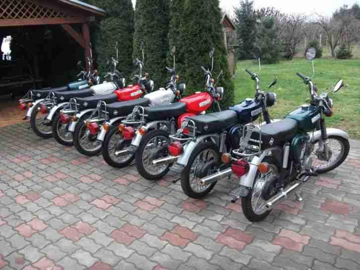 Simson motoräder sammlung zu verkaufen