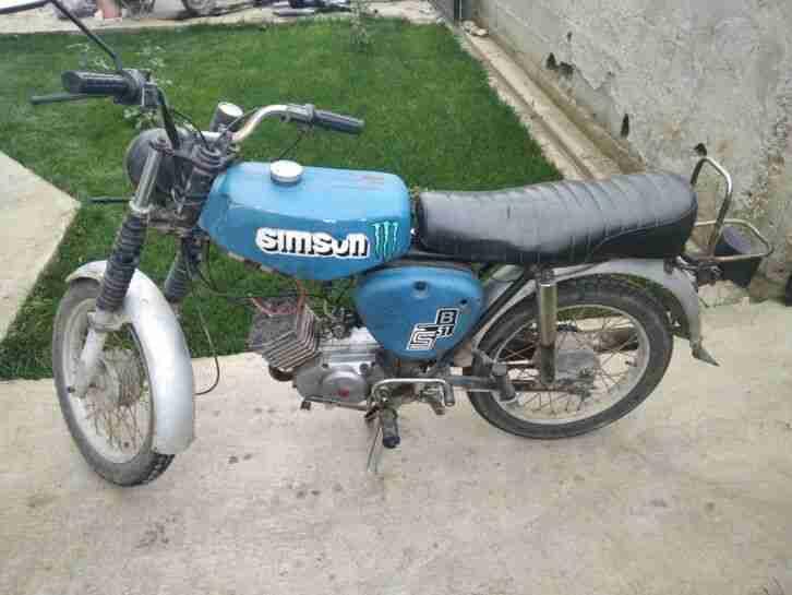 Simson s 51 Moped 4 Gang