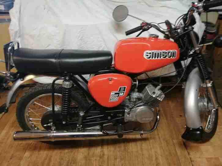 Simson s50 B1 im sehr guten Zustand.