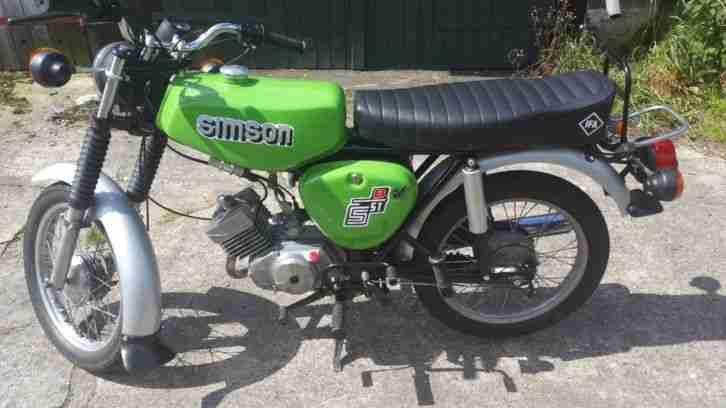 Simson s51 4 Gang Bj. 1982