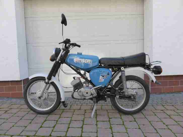 simson s51 enduro 1986 fahrbereit moped ddr bestes. Black Bedroom Furniture Sets. Home Design Ideas