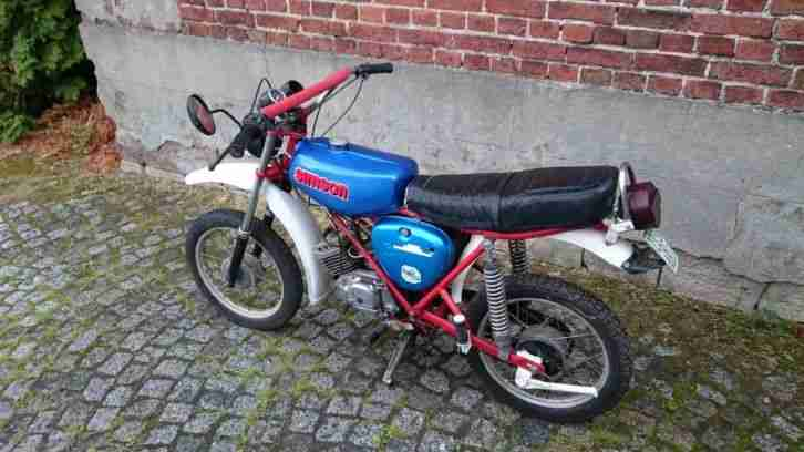 Simson s51 Enduro Tuning Cross