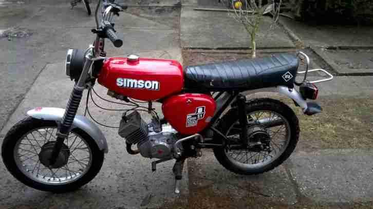 simson s51 motorrad bestes angebot von simson. Black Bedroom Furniture Sets. Home Design Ideas
