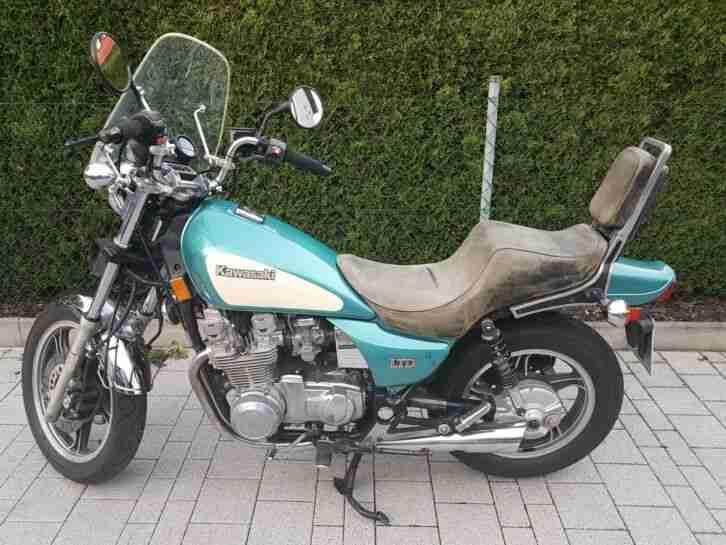 Sondermodell Sehr schöne Kawasaki ZN 700 US Reimport
