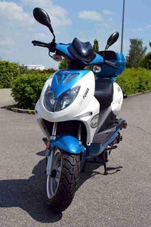 Sport Motorroller 50ccm Nova Motors GT3 5PS Fast NEU