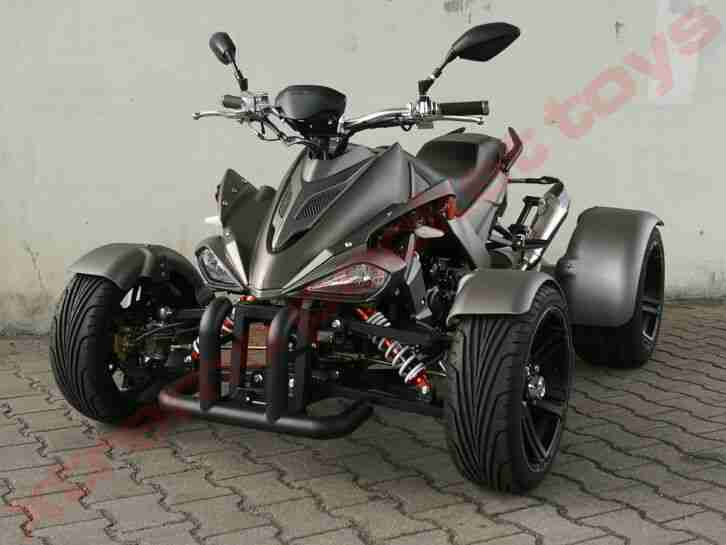 Spy Racing EEC Quad 250cc EFi 2 Pers Zulassung | 4 Gang Rückwärtsgang
