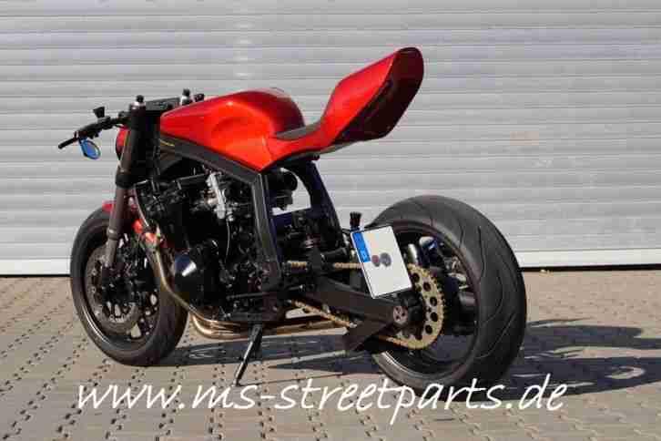 Street Cafe Racer Custombike GSXR Knicker Gu74 Einzelstück Neuaufbau