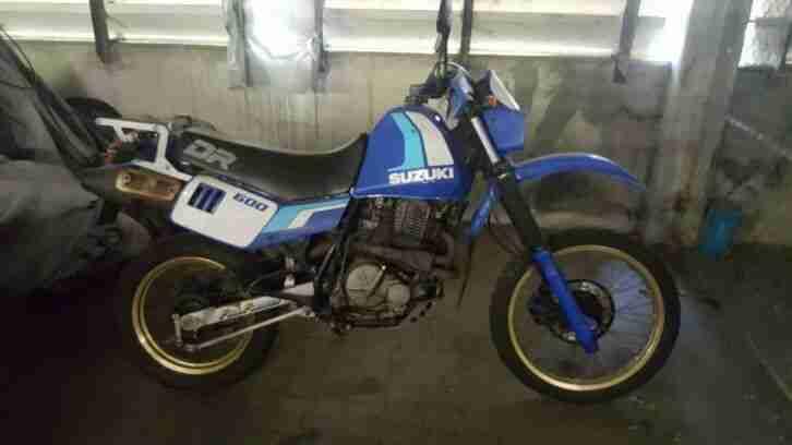 Suzuki 600 DR Bj .1990