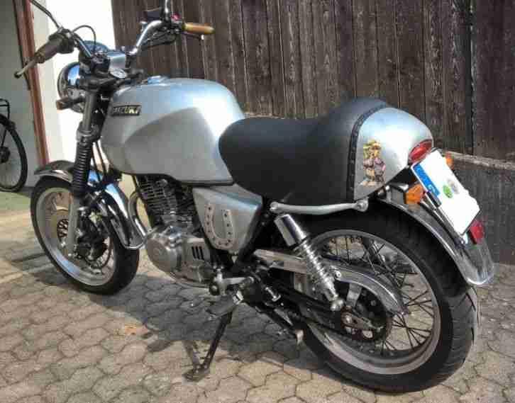 Suzuki GN 250 Lucky Bastard Totalumbau ähnlich - Bestes