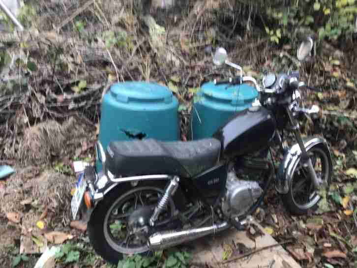 Suzuki GN 250 günstiges Anfängermotorrad