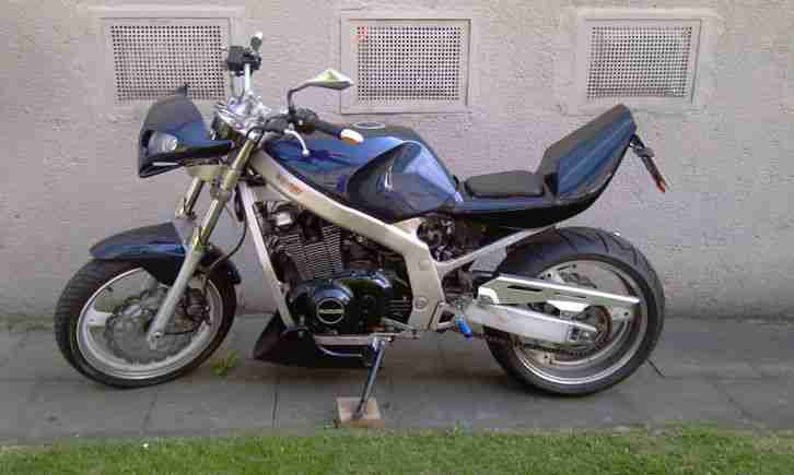 GS 500 E Streetfighter Umbau Fighter