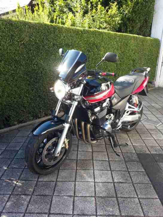 Suzuki GSX 1400 Nakedbike viel Zubehör Bos Rizoma MRA ABM Lucas