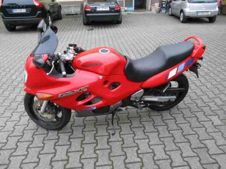 Suzuki GSX 600 F Motorrad BJ. 1998 mit TÜV bis 05 2020 an Bastler