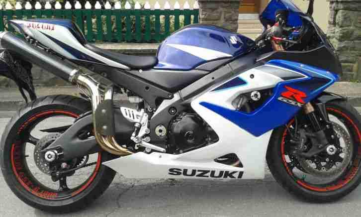 Suzuki Gsx R 1000 K5 K6 Erstzulassung 19.04.2006 16600Km