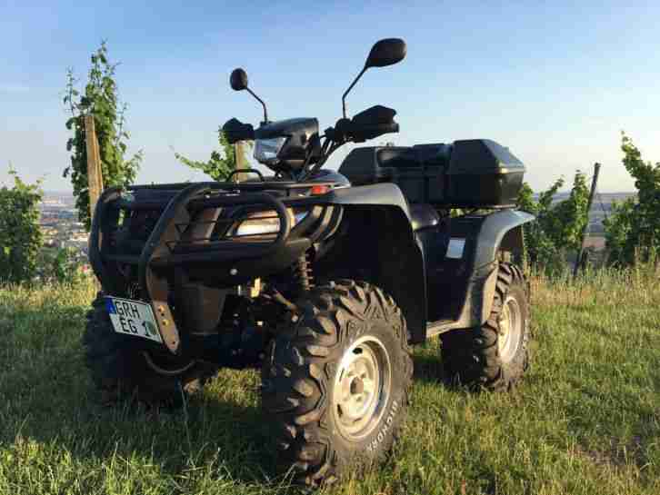 Suzuki King Quad 750 1 Vorbesitzer Maxxis Bighorn Reifen Neu Kingquad