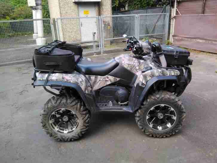 Suzuki King Quad 750 AXI EPS LOF Bj. 2014