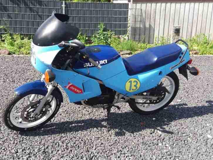 Suzuki RG 80 Gamma Kultbike Echtes Sammlerstück 32.000 km TÜV Neu