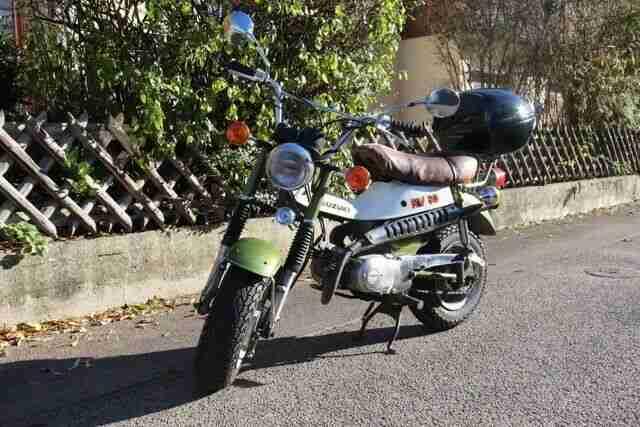 Suzuki RV 50; Kult; 47 Jahre