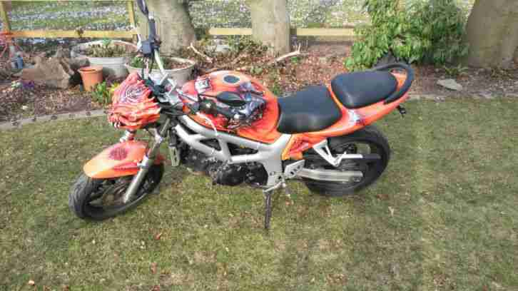 SV650 Fighterumbau, Airbruch, IXIL,