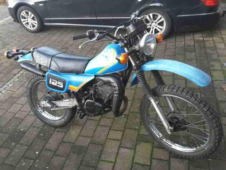 Suzuki TS 125 TS125 Enduro an Bastler, Schrauber
