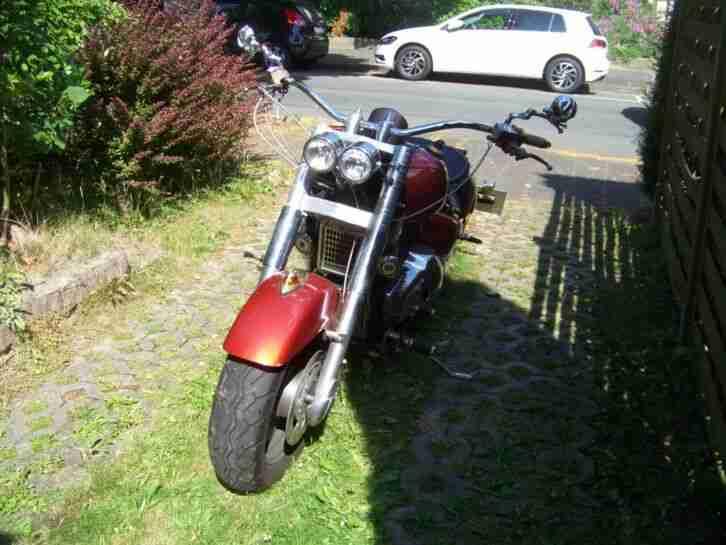 Suzuki VL 1500 Custom Umbau Rate Bike Design Chopper