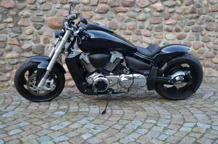 suzuki vzr 1800 intruder custom bike umbau bestes. Black Bedroom Furniture Sets. Home Design Ideas