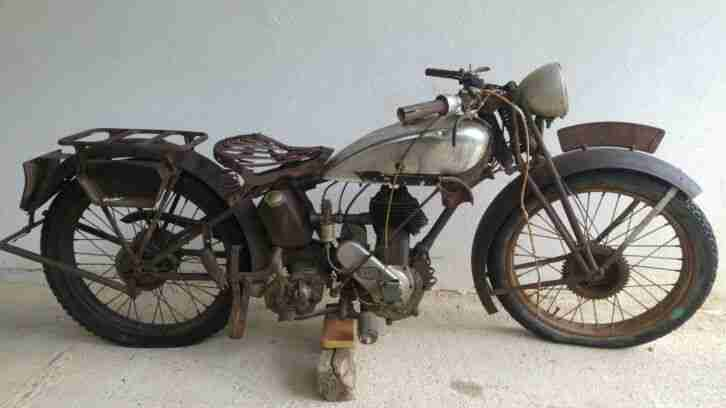 TERROT 250ccm 4 Takt, Bj.1930 fuer Restaurierung