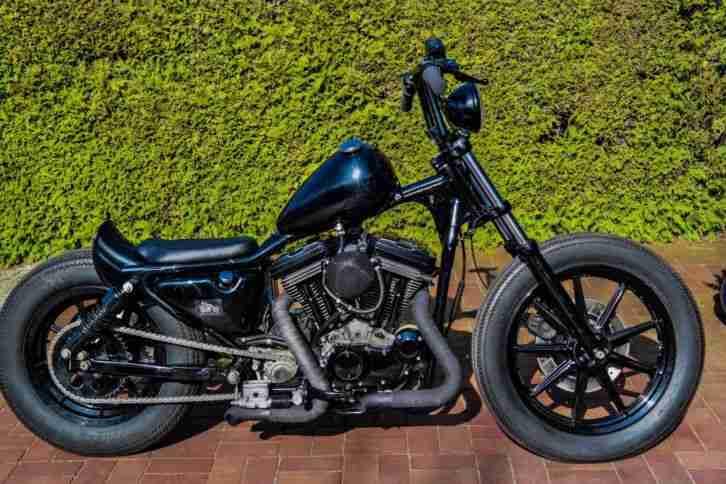 >TOP 1993 Harley Davidson XL Sportster Bobber EVO!