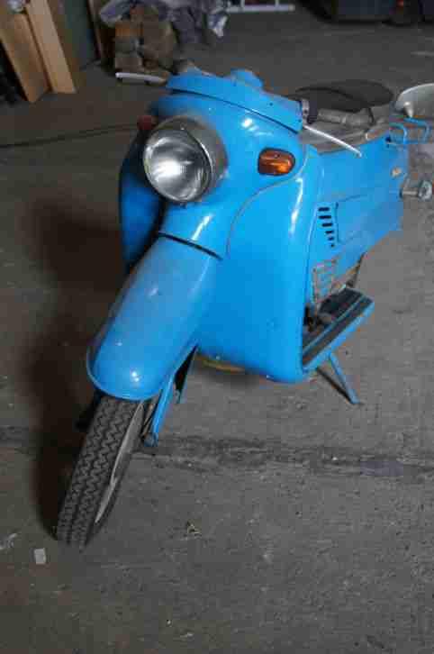 Tatran Roller 125 Motorroller seltene Rarität in Blau