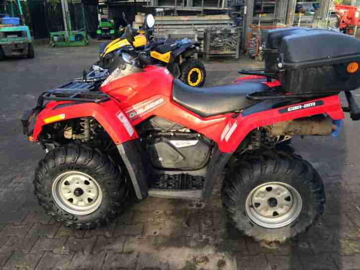 !!!Top!!! Bombardier Can Am 800 EFI, 4x4, Quad ATV, !!!Top!!! Bj 2008
