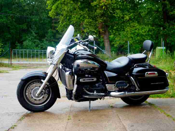 Triumph Rocket III Touring ABS Vollausstattung Service neu! Inz. Indian Harley