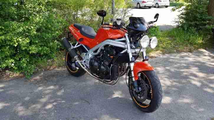 Triumph Speed Triple T509 Motorrad Bike