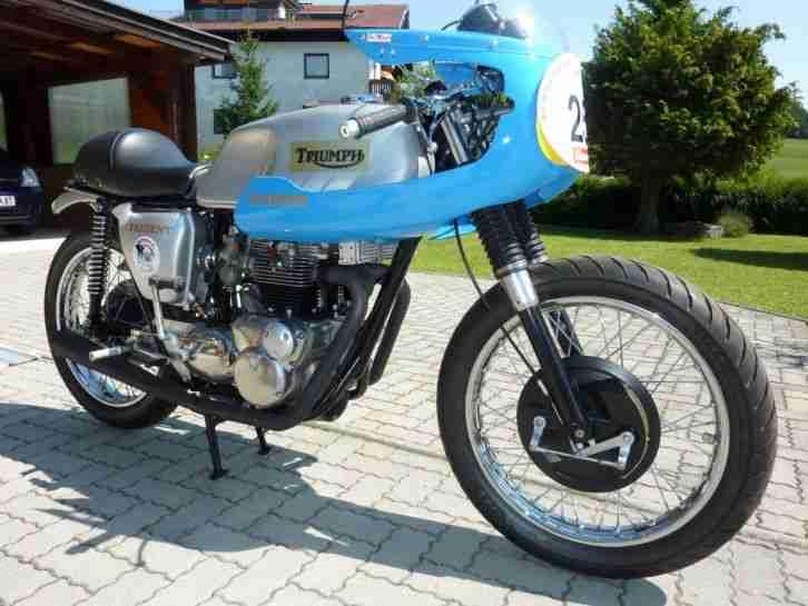 Triumph Trident T150T BERGRENNMASCHINE