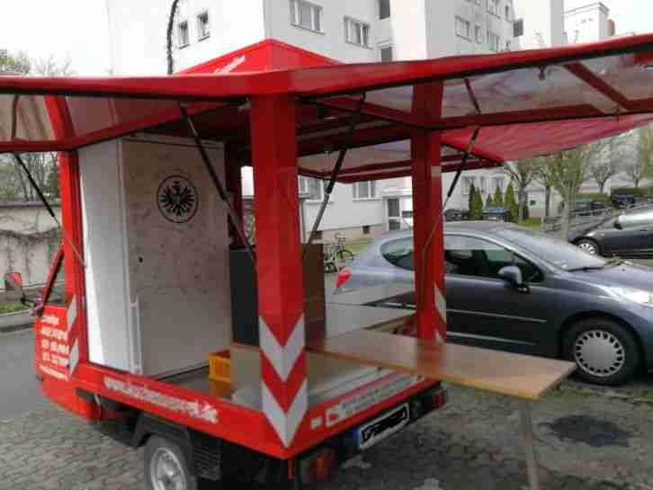 Vespa PIAGGIO Ape TM 703 V Foodtruck, Verkaufswagen, TOP ZUSTAND