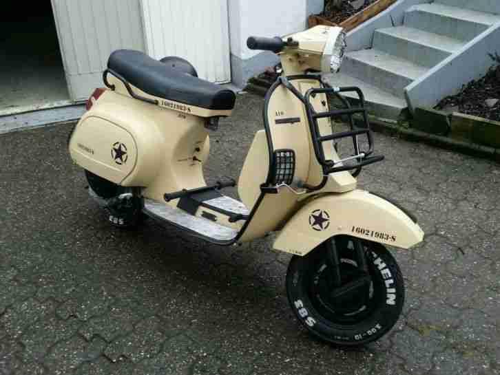 vespa piaggio pk 50 xl militairy motorroller bestes. Black Bedroom Furniture Sets. Home Design Ideas
