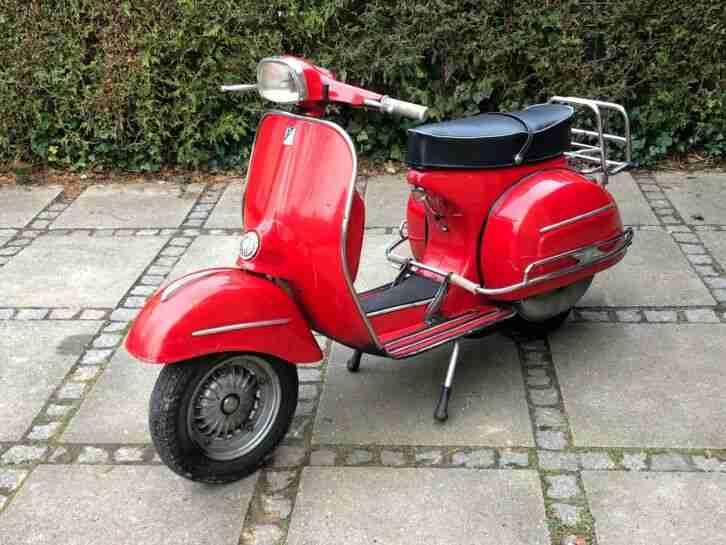 Vespa Super Sport scooter roller oldtimer 1965 SS original selten VSC1T 180SS