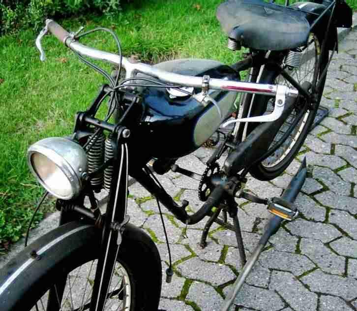 WANDERER OLDTIMER MOTORRAD 1938 SACHS 98 MOTOR FAHRRAD CHEMNITZ NSU DKW MIELE UT