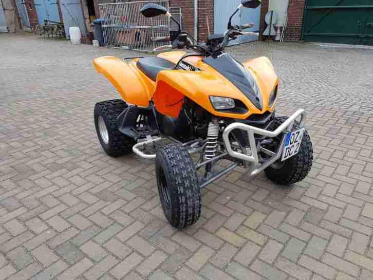 Winterpreis Quad Kawasaki KFX 700 LOF TÜV 05 19 TOPZUSTAND