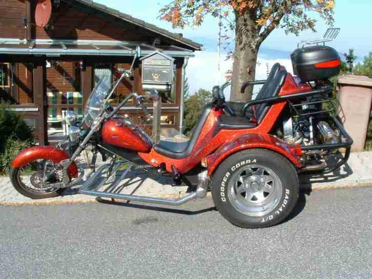 Wolf Trike , 1600 ccm , 50 PS , mit U Kat , TÜV Okt. 2019, VW Käfer Motor..