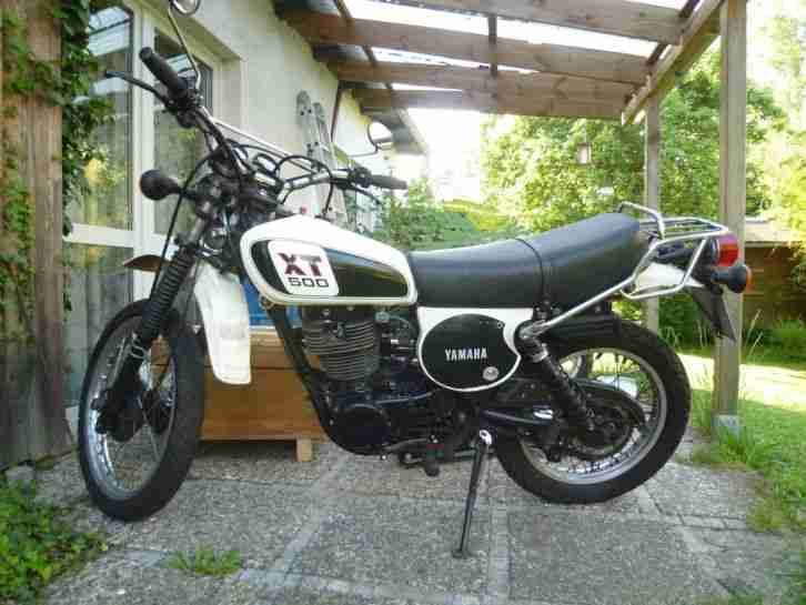 XT500 , 1979, Nummerngleich, Supertrapp