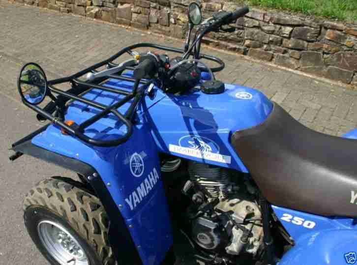 YAMAHA TIMBERWOLF 250 QUAD ATV