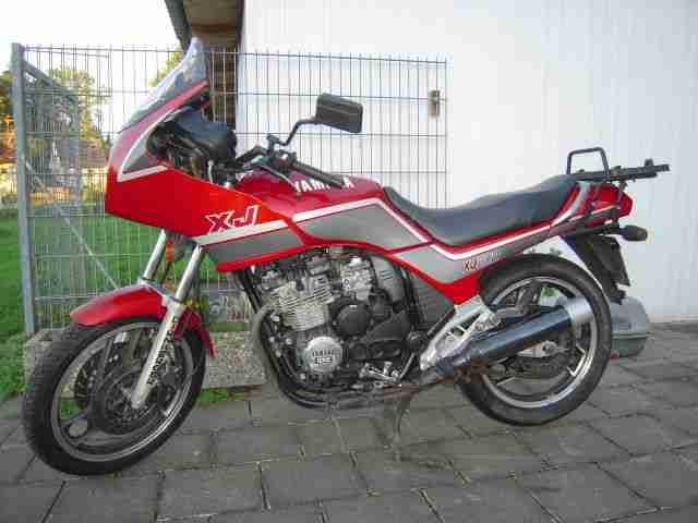 Yamaha XJ 600 Typ 51J mit Schlüssel und Brief - Bestes