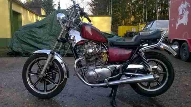 Yamaha 650 SE Motorrad