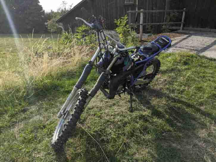Yamaha DT 80 LC 2 Typ 53VA Cross Motorrad Leichtkraftrad Moped
