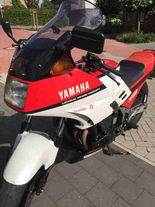 Yamaha FJ 1200 mit TÜV